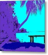 Florida Blues Metal Print