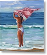 Florida Breezes Metal Print