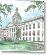 Florida Capitol 1902 Metal Print