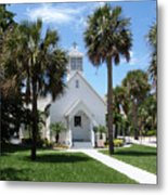 Florida Community Chapel Metal Print