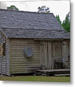 Florida Cracker Cabin Circa 1900 Metal Print