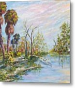 Florida Forgotten Metal Print