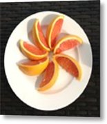 Florida Fruit Metal Print