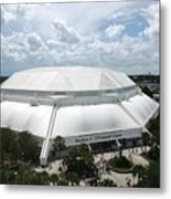 Florida Gators Stephen C. O'connell Center Metal Print by Replay Photos
