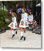 Florida Irish Dancers Metal Print