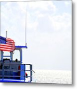 Florida Keys Patriot Metal Print