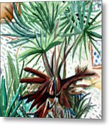 Florida Palm Metal Print