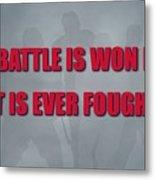 Florida Panthers Battle Metal Print