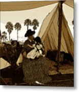 Florida Pioneers 1800s Metal Print
