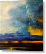 Florida Seascape Metal Print