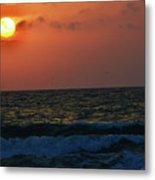 Florida Sunset 1 Metal Print