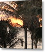 Florida Sunset 2 Metal Print