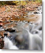 Flow In Sedona Metal Print