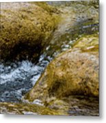 Flow Through And Eddy Metal Print