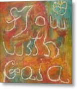 Flow With Gaia Metal Print