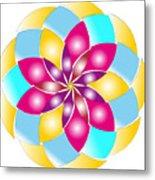 Flower 1317 - Abstract Art Print - Fantasy - Digital Art - Fine Art Print - Flower Print Metal Print