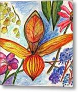 Flower 73 Metal Print
