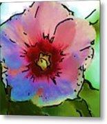 Flower 8-15-09 Metal Print