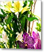 Flower Arrangement 1 Metal Print