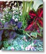 Flower Box Metal Print