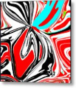 Flower Burst Of Color Metal Print