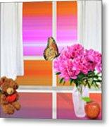Flower Color Metal Print