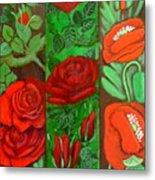 Flower Composition 4 Metal Print