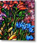 Flower Culture 213 Metal Print
