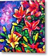 Flower Culture 297 Metal Print