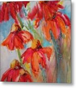 Flower Dance IIi Metal Print