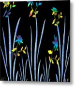Flower Dance Metal Print