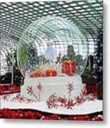 Flower Dome 2 Metal Print