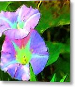 Flower Drawing Metal Print