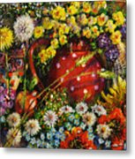 Flower Extravaganza Metal Print