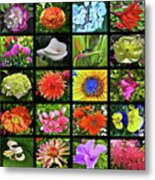 Flower Favorites Metal Print