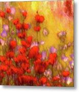Flower Fields Of Summer Metal Print
