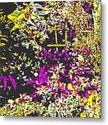 Flower Flood Metal Print