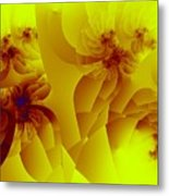 Flower Formations Metal Print