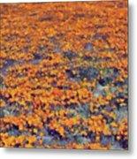 Flower Hill Metal Print