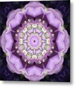 Flower Kaleidoscope 004 Metal Print