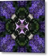 Flower Kaleidoscope_004 Metal Print