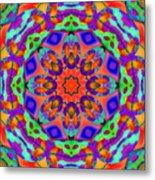 Flower Mandala 4 Metal Print