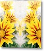 Flower Montage Metal Print