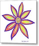 Flower Of Joy Metal Print