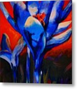 Flower Of My Heart Metal Print