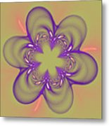 Flower Of Pink - Purple Metal Print