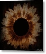 Flower Painting Digitally Metal Print