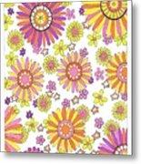Flower Power 1 Metal Print