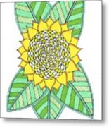 Flower Power 6 Metal Print