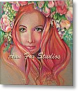 Flower Power Metal Print